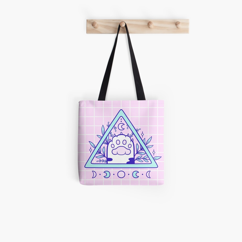 Witchy Cat Paw 03 Tote Bag