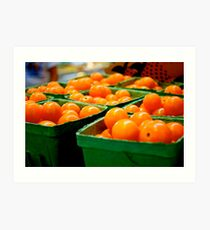 Farmers Market Baby Tomatoes Art Print