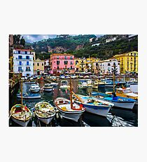 Marina in Sorrento Photographic Print