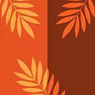 Dividation #illustration #artwork #leaves von Creativeaxle