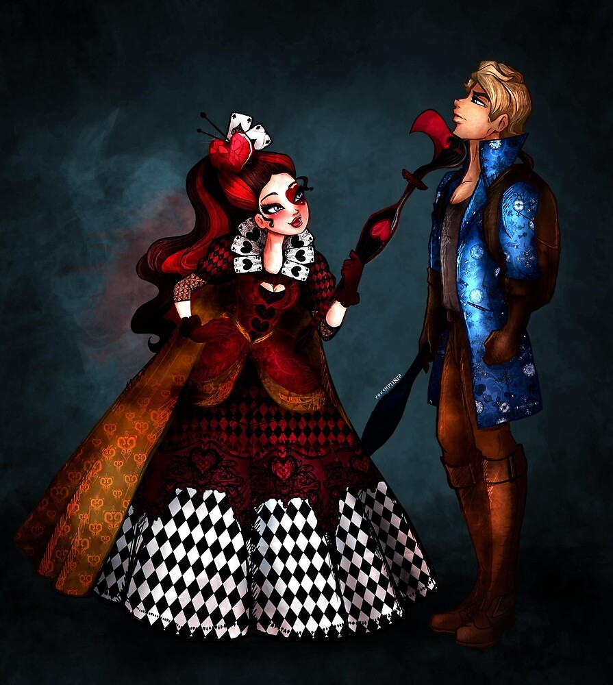 Quot Yes Your Majesty Lizzie Hearts Amp Alistair Wonderland