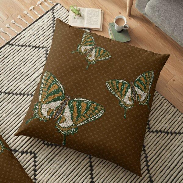 Aboriginal Swallowtail Floor Pillow