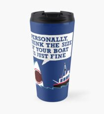 Polite Jaws Travel Mug