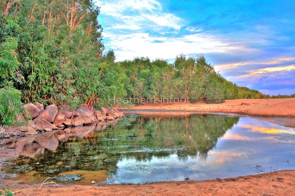"""Yule River - Pilbara, Western Australia"" by Heather"