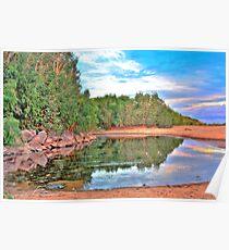 Yule River - Pilbara, Western Australia Poster