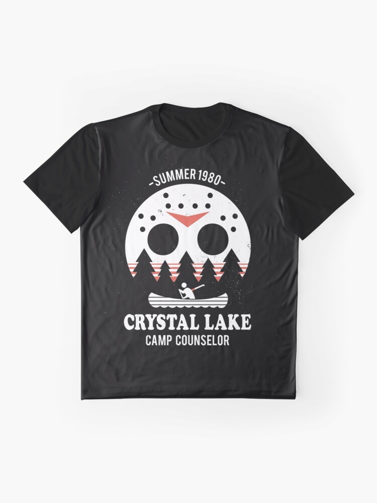 Alternate view of Crystal Lake Camp Counselor Graphic T-Shirt
