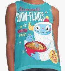 Abominable Snowflakes Sleeveless Top