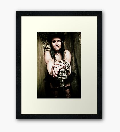 Welcome into my world Framed Print