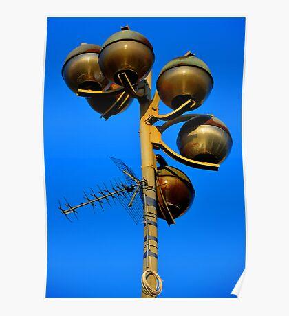 "City Life - ""Light & Communication"" Poster"