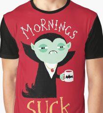Mornings Suck Graphic T-Shirt