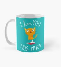 I Love You This Much Classic Mug
