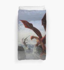 Dragon Fight  Duvet Cover