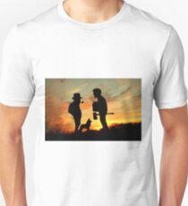 Old friends Converge at Dusk... Unisex T-Shirt