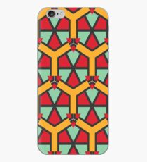 Honeycombs triangles and other shapes pattern iPhone Case