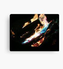 Open Fire!!! Canvas Print