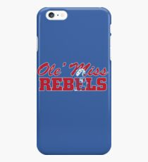 OLE MISS WITH EMBEDDED MASCOT iPhone 6s Plus Case