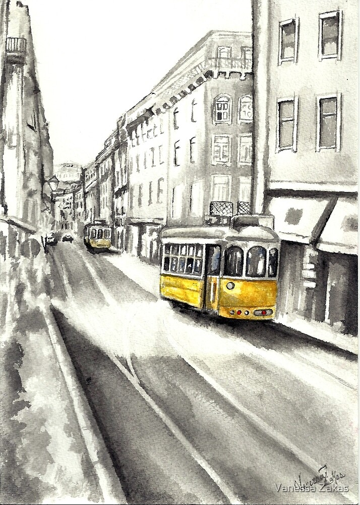 Streets of Portugal by Vanessa Zakas
