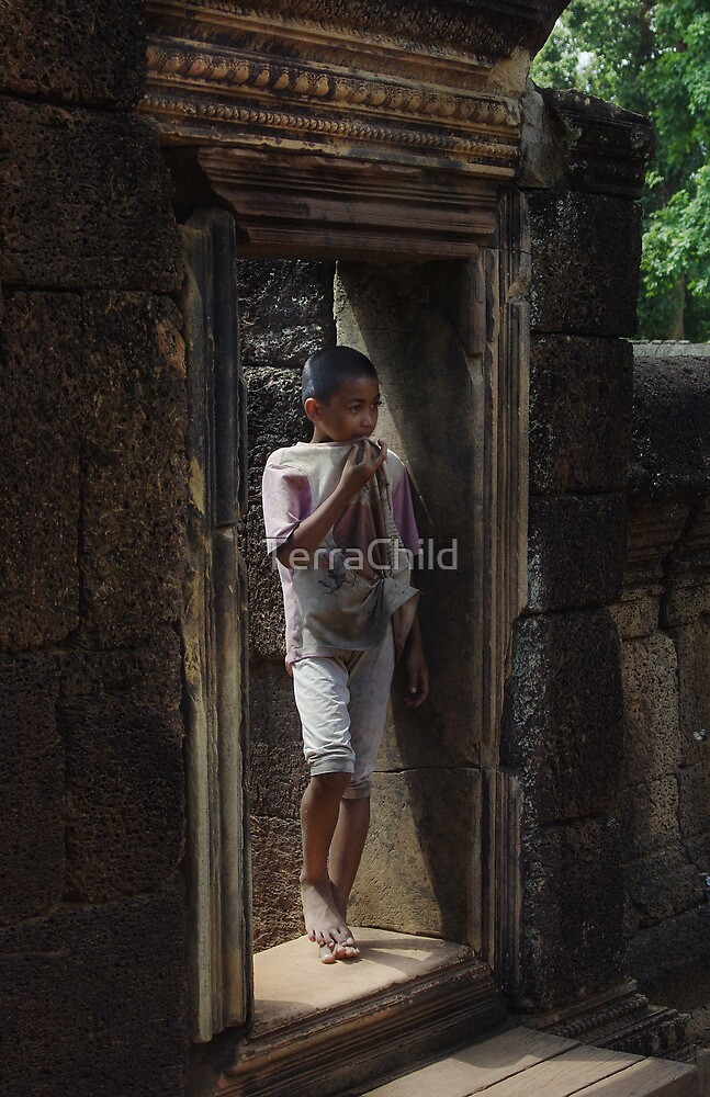 Cambodian Child by TerraChild