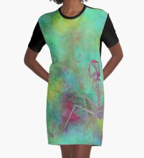 Bacteriophage Invasion  Graphic T-Shirt Dress