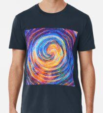 Abstraction of vortex wave Premium T-Shirt