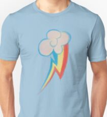Painted Rainbow Unisex T-Shirt