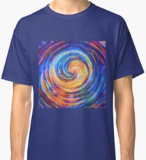 Abstraction of vortex wave Classic T-Shirt
