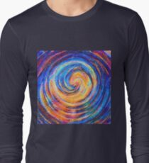 Abstraction of vortex wave Long Sleeve T-Shirt
