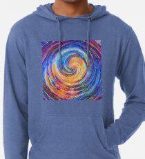 Abstraction of vortex wave Lightweight Hoodie
