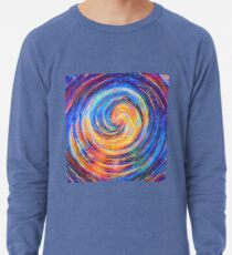 Abstraction of vortex wave Lightweight Sweatshirt