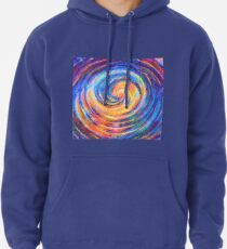 Abstraction of vortex wave Pullover Hoodie