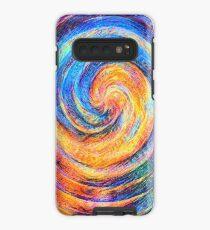 Abstraction of vortex wave Case/Skin for Samsung Galaxy