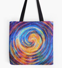Abstraction of vortex wave Tote Bag