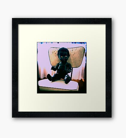 Dolly - a childhood memory Framed Print