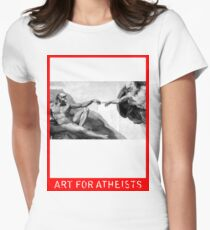 Art for Atheists: Darwin#1 Womens Fitted T-Shirt