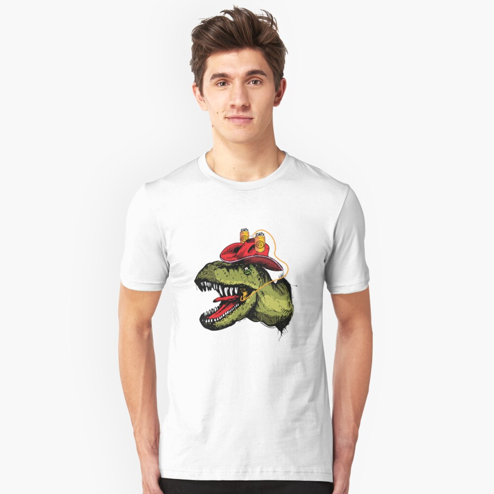 Dragon Beer Brew Slim Fit T-Shirt