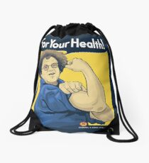For Your Health! Drawstring Bag