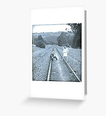 Getting Your Life On Track! Greeting Card