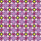 Pink Pinwheel Flowers by caseykayb