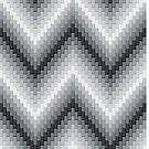 Grey Herringbone by Lisann