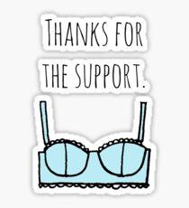 Support bra Sticker