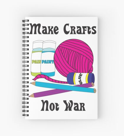 Make Crafts Spiral Notebook