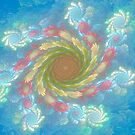 Spinning Into The Blue by Deborah  Benoit