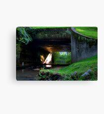 Bridge HDR Canvas Print