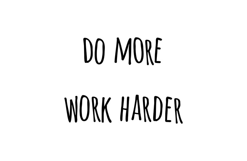 Iphone wallpaper classic art - Quot Quot Do More Work Harder Quot Casey Neistat Quot Studio Pouches By