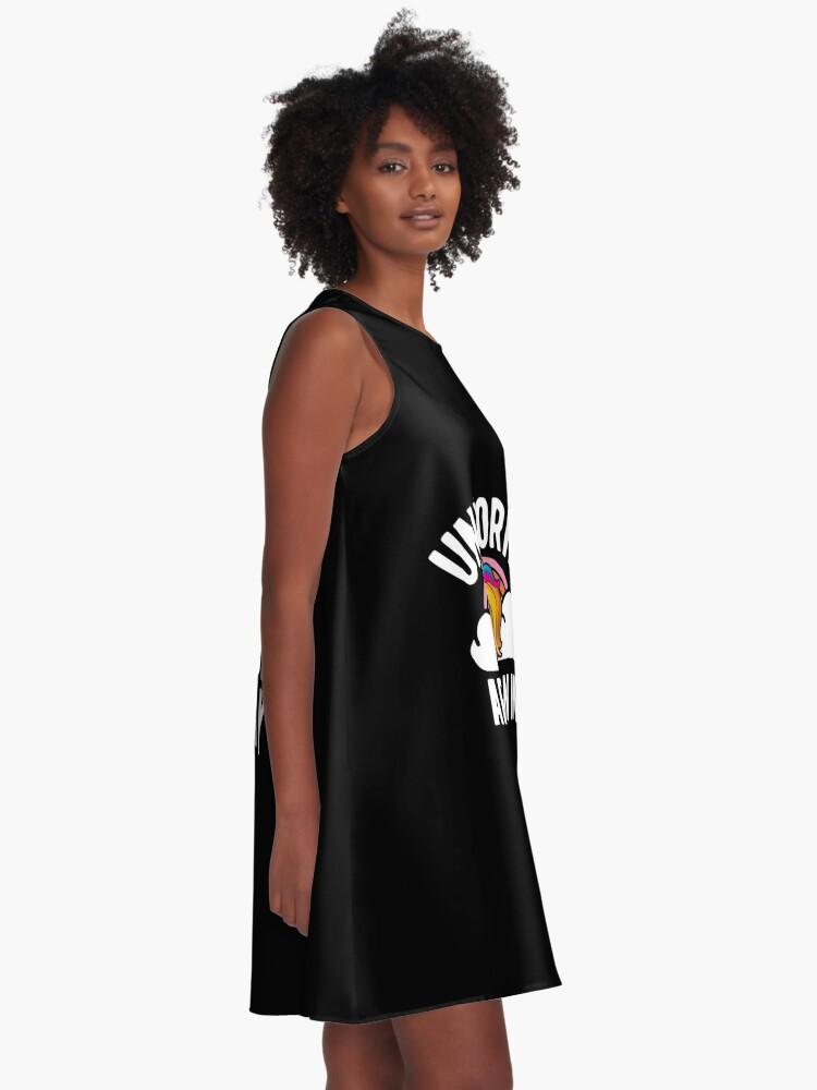 Alternative Ansicht von Unicorns Are Born In May Shirt Birthday Month Gift Tee A-Linien Kleid