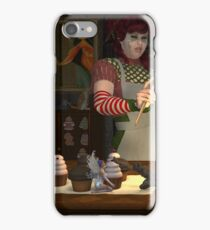 December, Seasons of the Witch: Kitchen Witchery iPhone Case/Skin