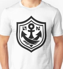 Camiseta unisex SquidForce White Anchor Tee