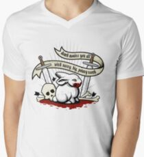 The Rabbit of Caerbannog Men's V-Neck T-Shirt