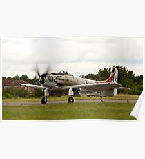 A1 Skyraider Poster
