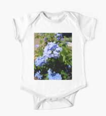 Blue plumbago flowers One Piece - Short Sleeve